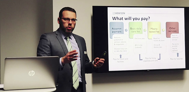 A Professional Adviser's Perspective: Chris Morcom