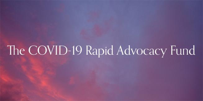 Transforming policy through rapid advocacy