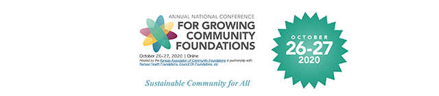 2020 Annual National Conference for Growing Community Foundations
