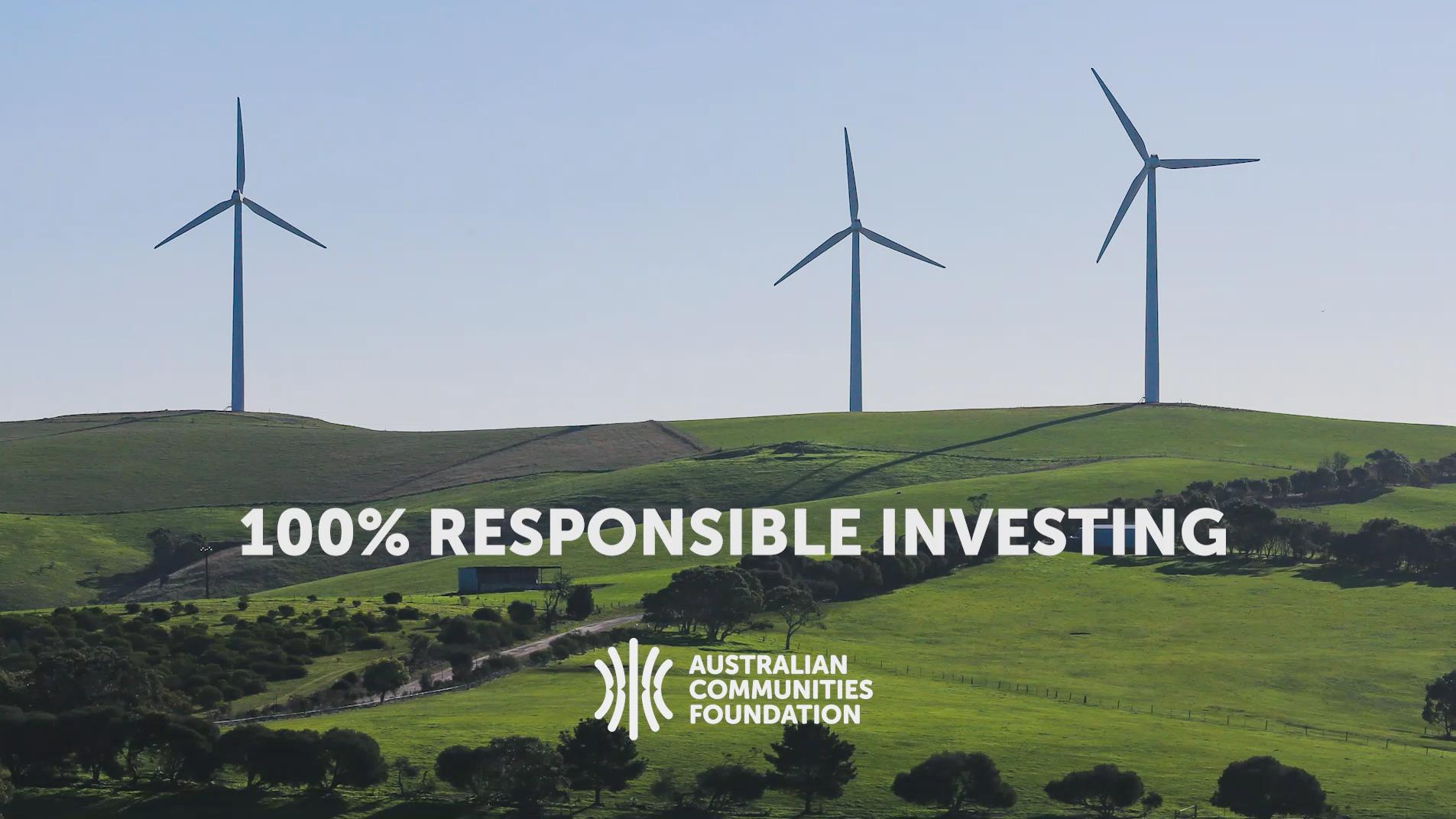 100% Responsible Investing